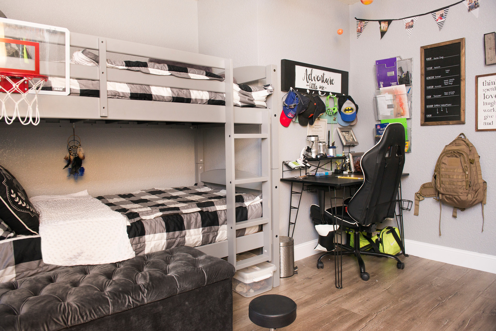 Picture of: Boys Bedroom Makeover Transformation Reveal The Sweetest Little Life